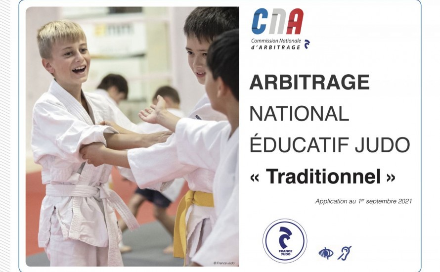 Arbitrage National Éducatif Judo