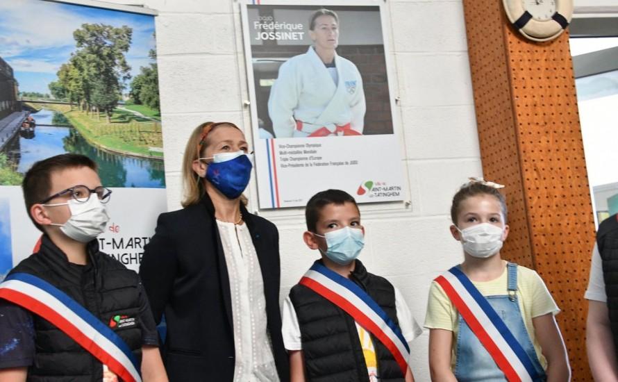 Inauguration du Dojo Frédérique JOSSINET à Saint-Martin-lez-Tatinghem